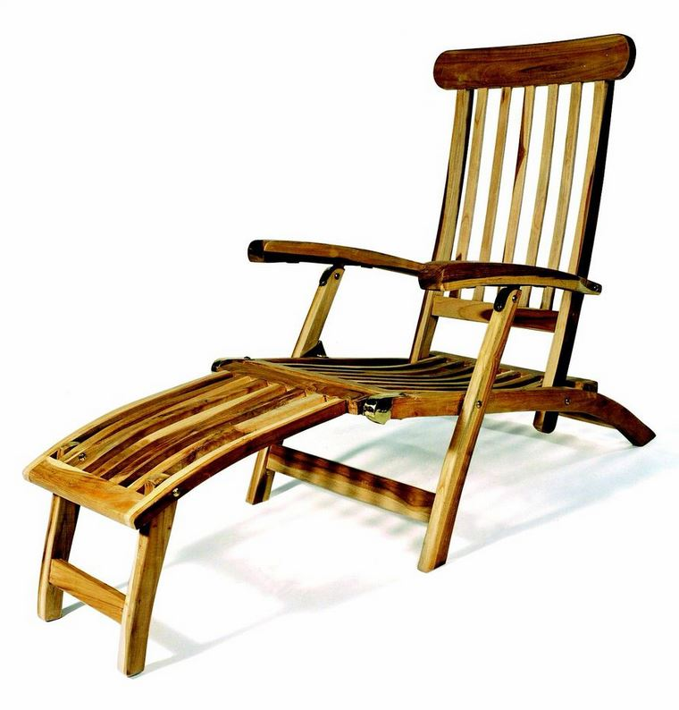 plo teak holz deckchair titanic liege milford ebay. Black Bedroom Furniture Sets. Home Design Ideas