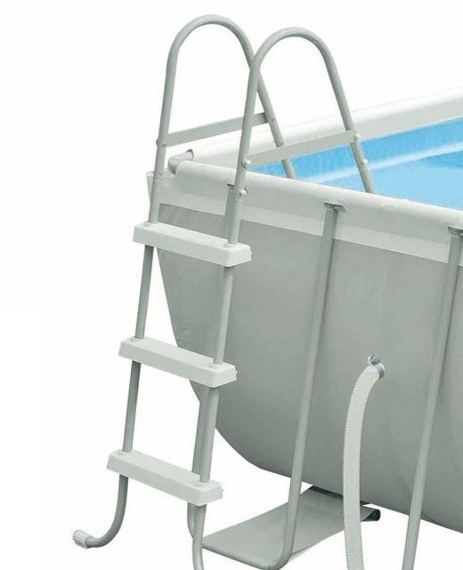 frame pool komplett set ultra quadra intex stahl rohr rahmen 400 x 200 x 100 cm ebay. Black Bedroom Furniture Sets. Home Design Ideas